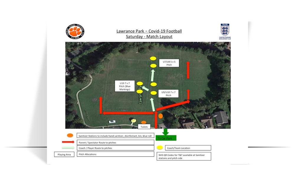 football ground layout lawrance park saturday