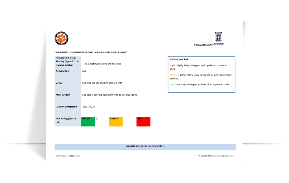 ttfc covid-19 safeguarding risk assessment