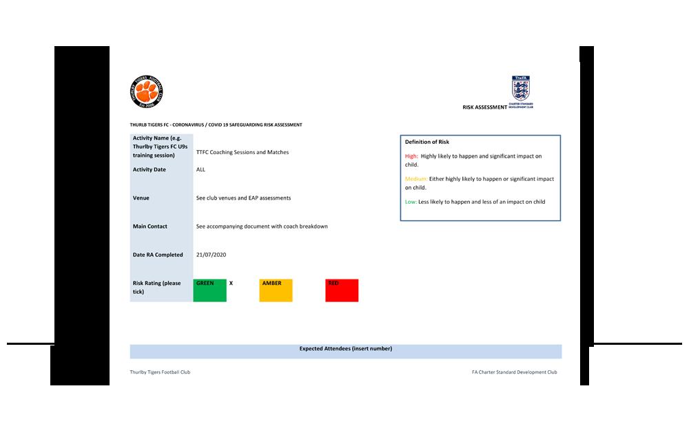 ttfc covid-19 safeguarding risk assessment