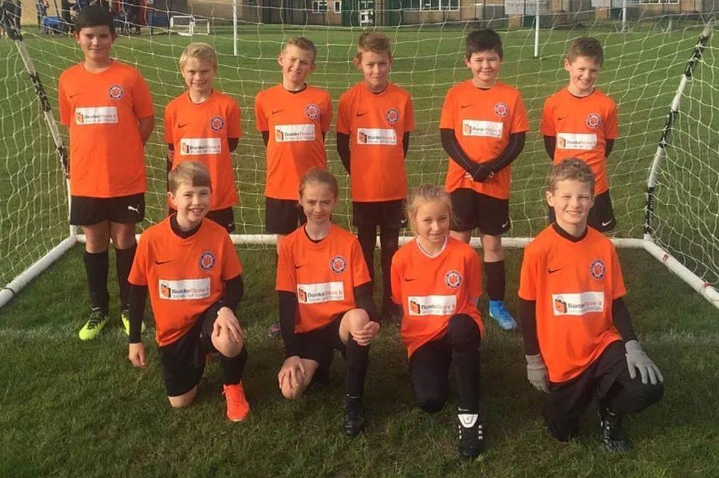 Thurlby football club for year 6