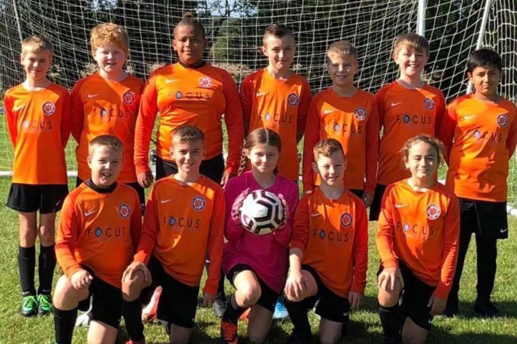 U12s football thurlby