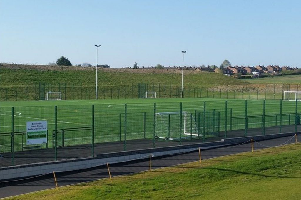 stamford borderville artificial grass 3g pitch information