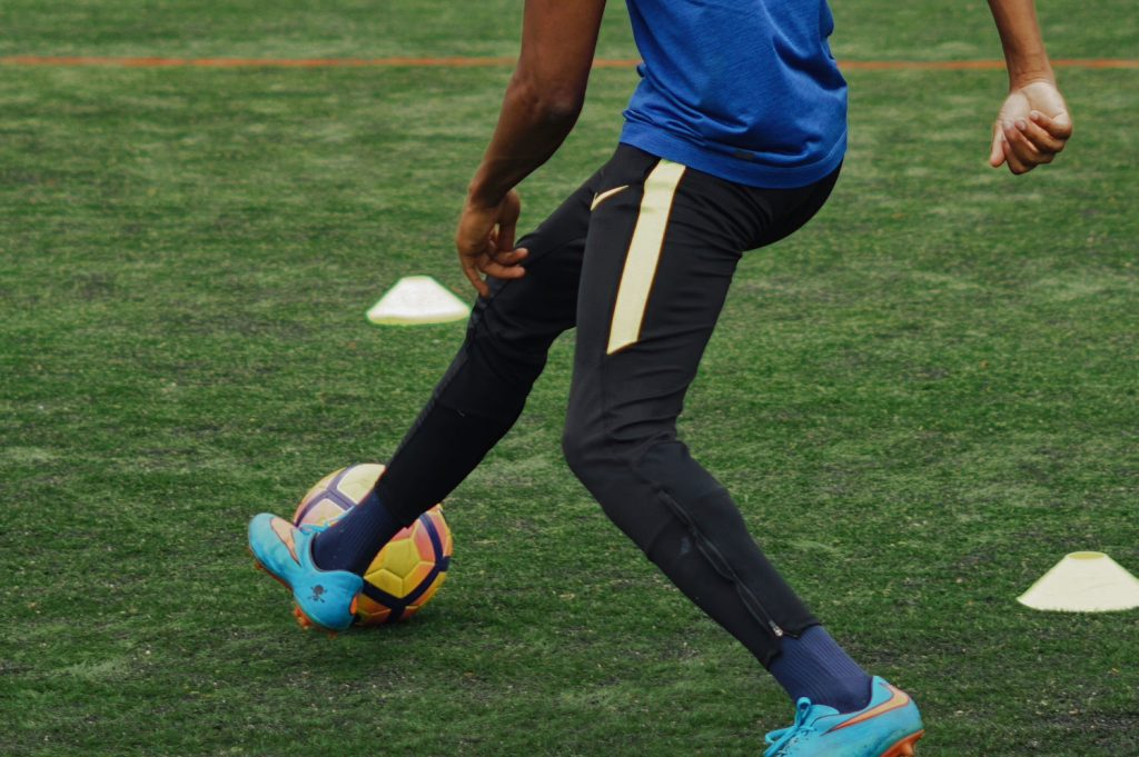 Football teams benefit from a rotation of players
