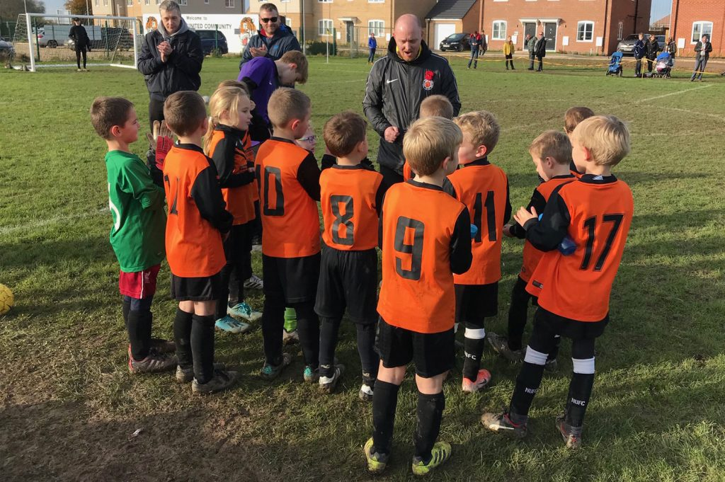 Thurlby Tigers is a football club that cares