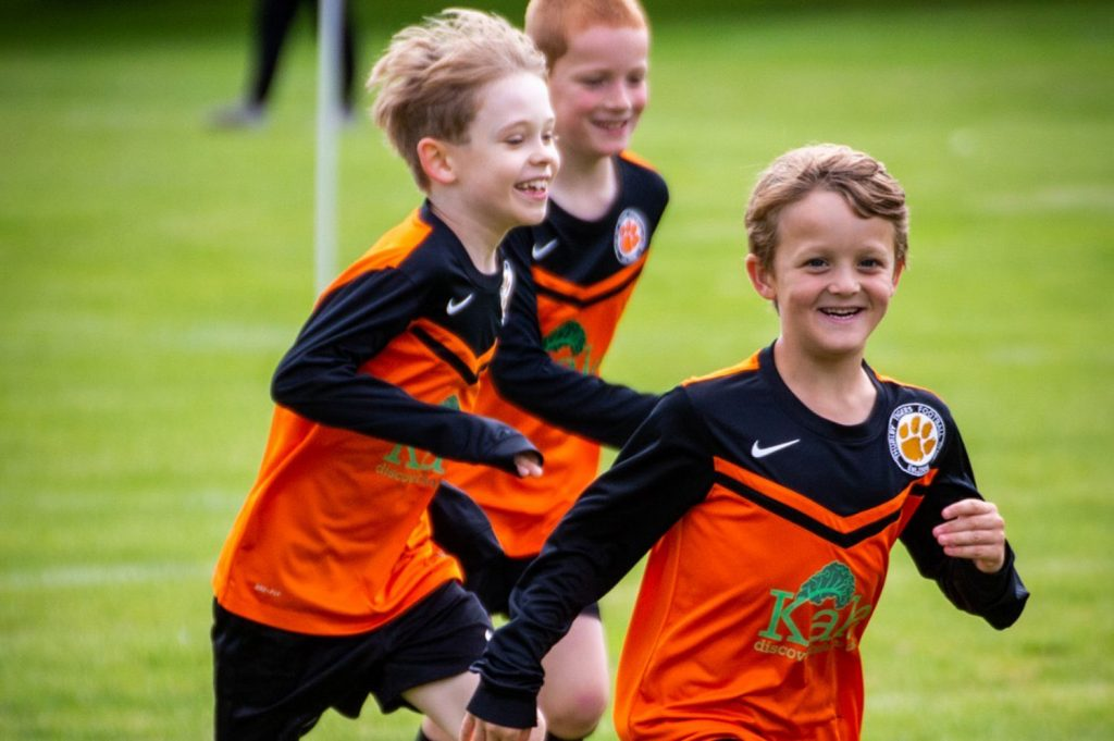 Introduction to playing fun competitive football