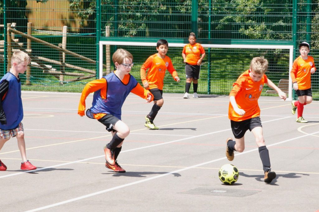 Football coaching aims to help teach the players life skills